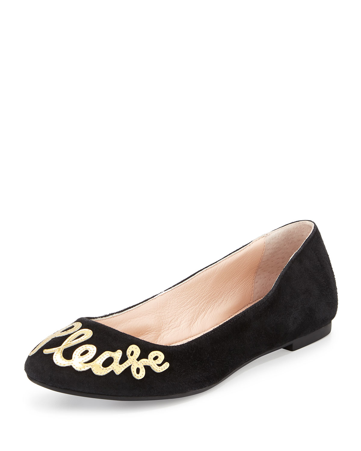 Kate spade new york willow yes please ballet flats in for Kate spade new york flats