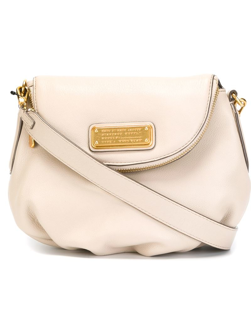 54a201dc85 Marc By Marc Jacobs 'new Q Mini Natasha' Crossbody Bag in Natural - Lyst