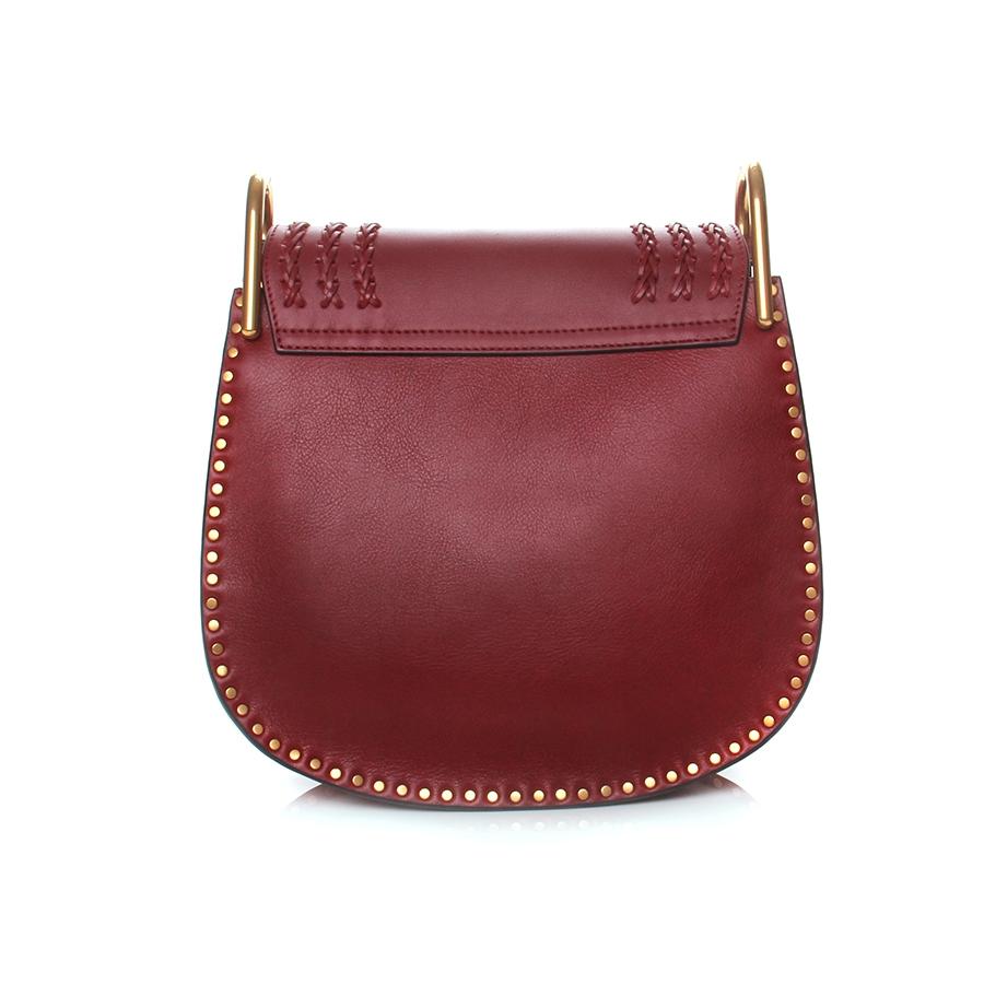 see by chloe bag sale - hudson bag in smooth calfskin \u0026amp; suede calfskin fringes