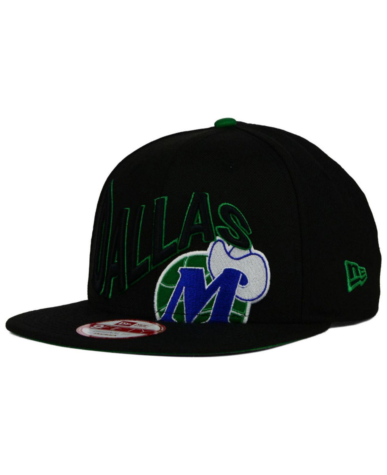 new styles 2316b b4c78 ... free shipping lyst ktz dallas mavericks neon wave 9fifty snapback cap  in black 8b530 04786