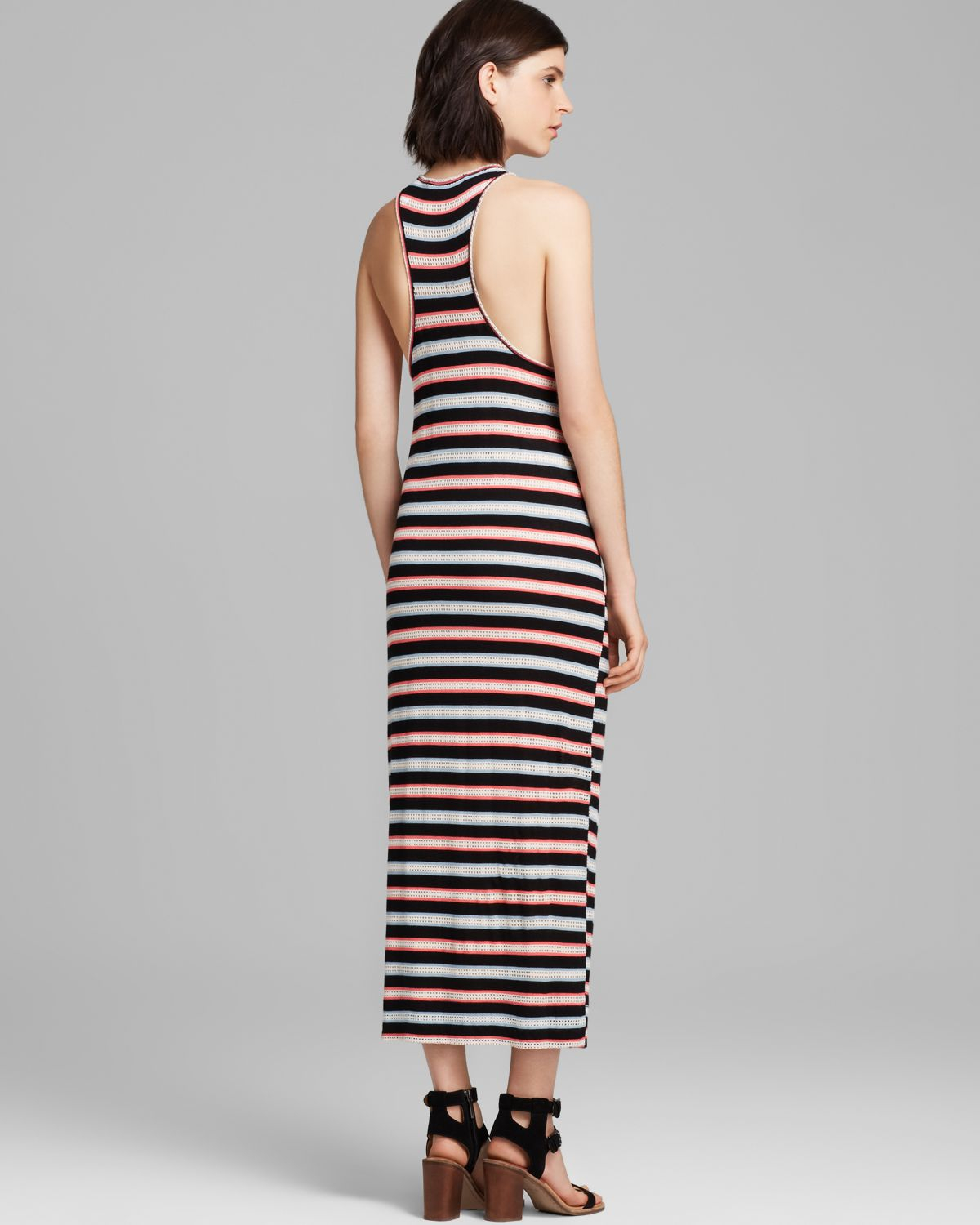 Marc by marc jacobs striped maxi dress