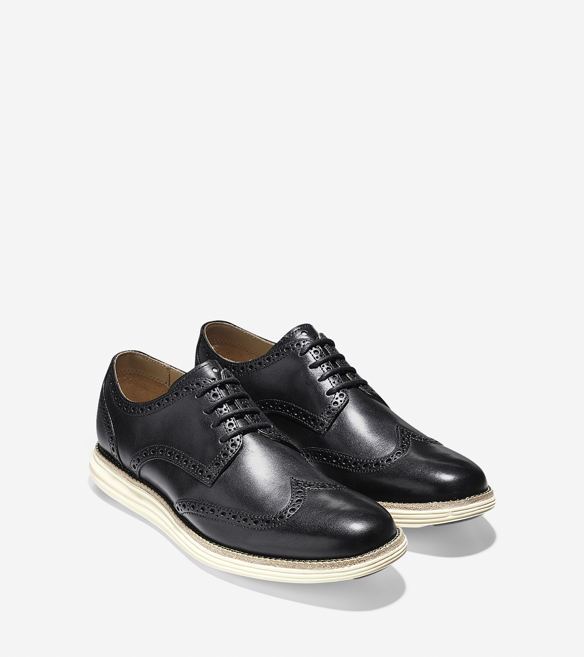 Black Wingtip Shoes