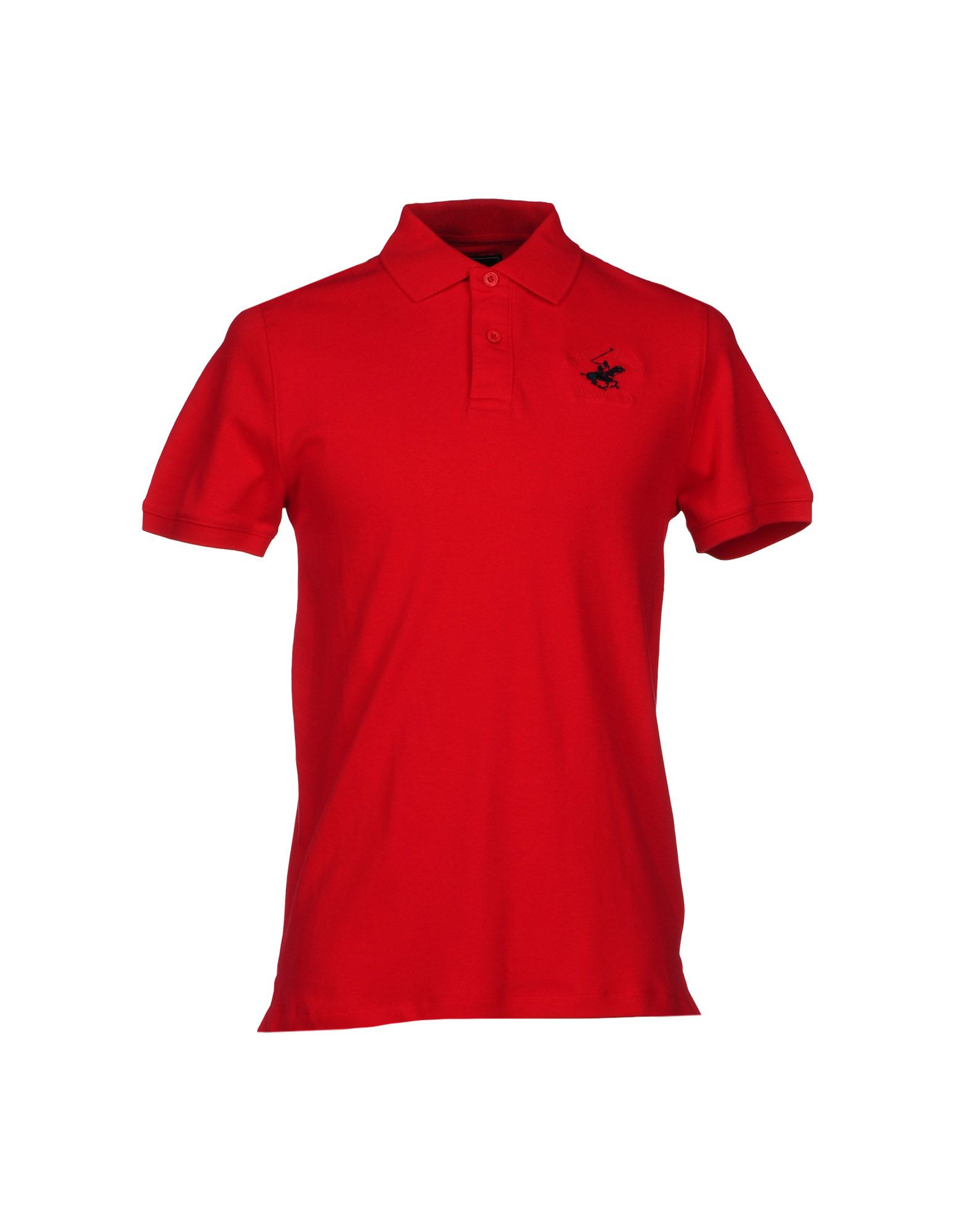 Lyst Beverly Hills Polo Club Polo Shirt In Red For Men