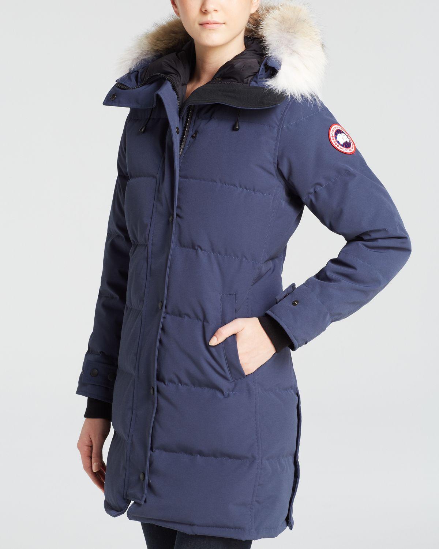 Canada Goose chilliwack parka sale authentic - Canada goose Down Coat - Shelburne Parka in Blue (Spirit) | Lyst