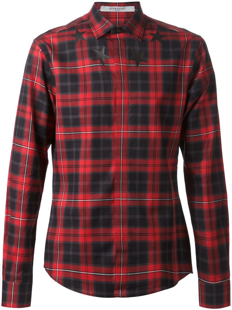 checkered star printed shirt Givenchy Sale Largest Supplier Cheap Sale Store Shopping Online Cheap Online 100% Authentic Online Best Wholesale d9I6xcK
