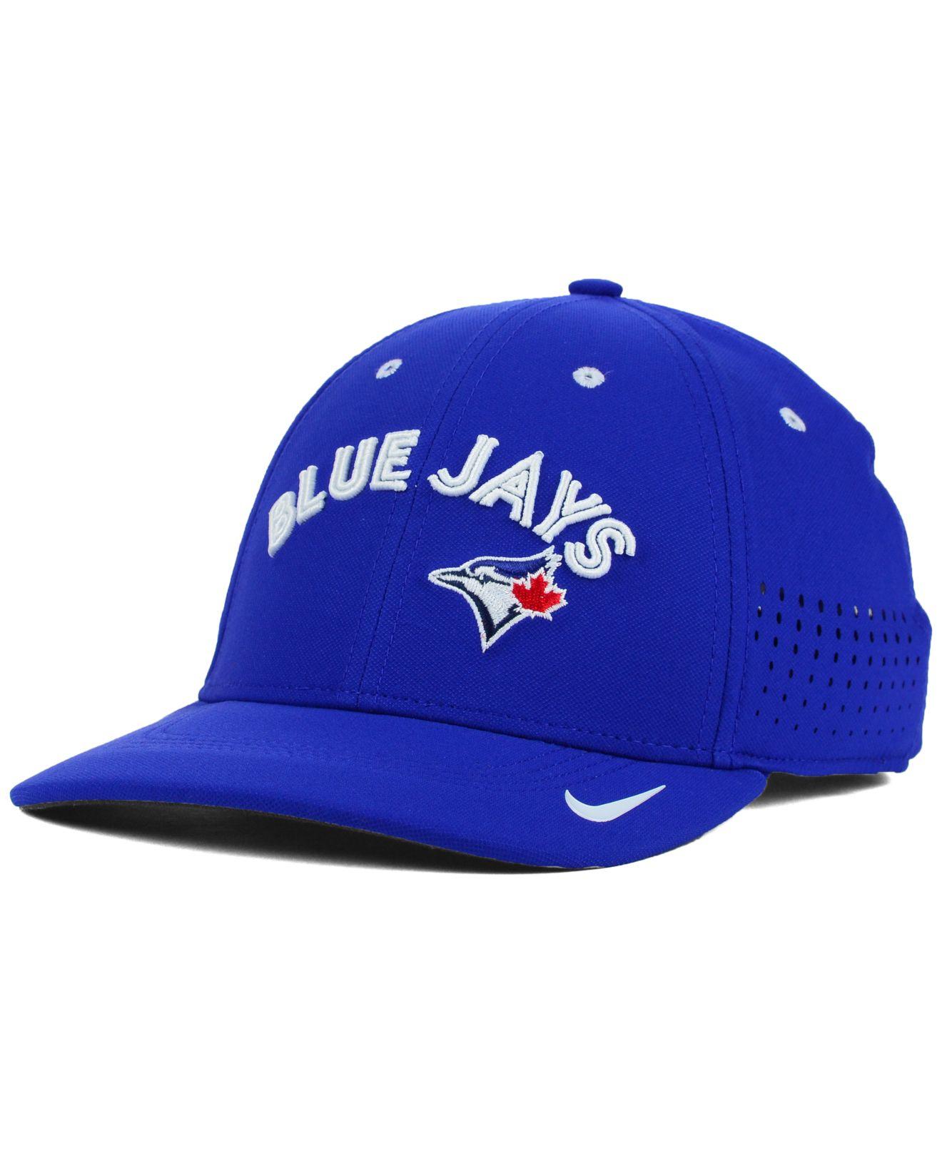 0443a94929b Lyst - Nike Toronto Blue Jays Vapor Swoosh Flex Cap in Blue for Men