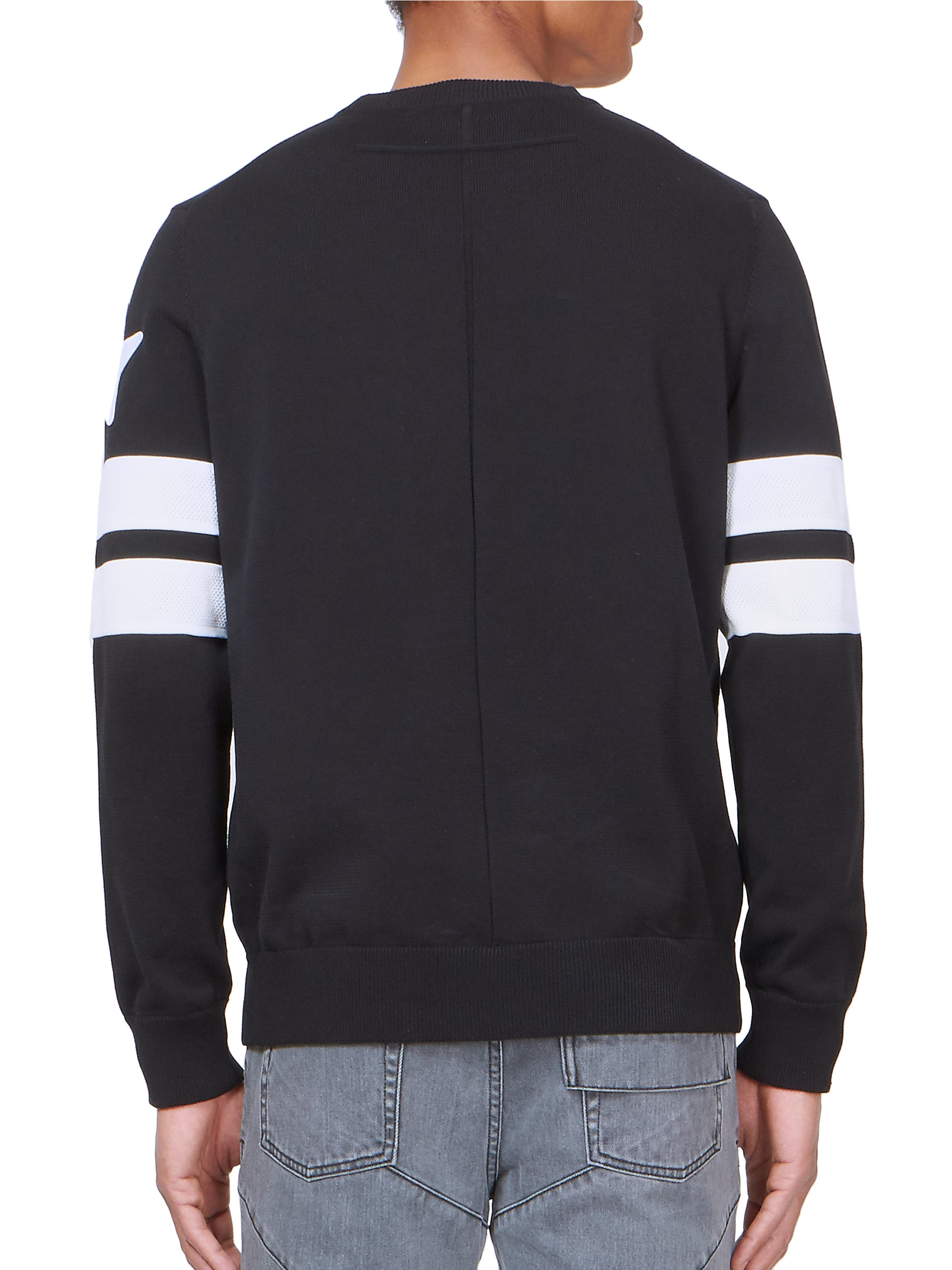 Givenchy star stripe sweatshirt in black for men lyst for Givenchy 5 star shirt