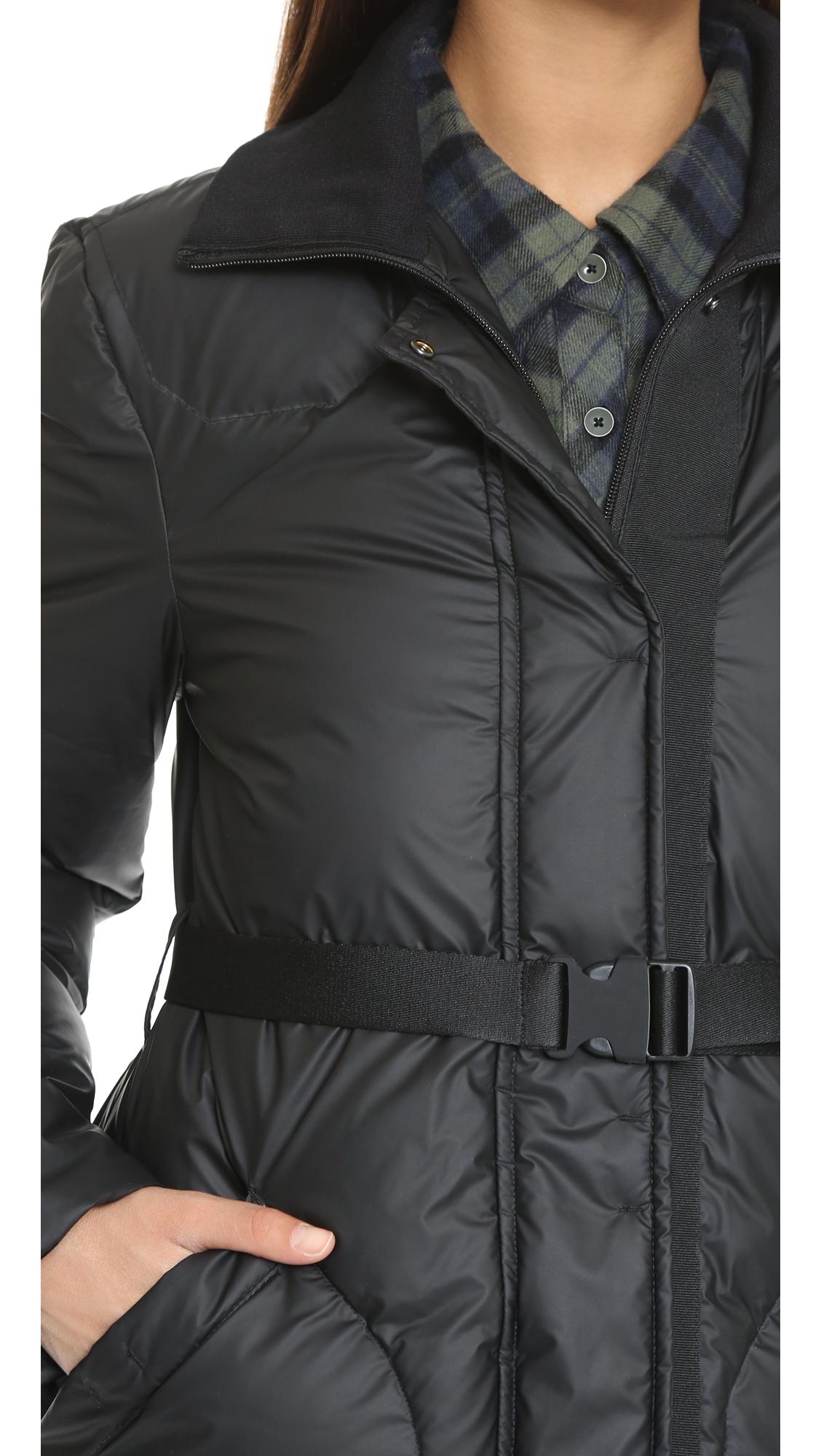 255b6833b4d35 HUNTER Original Down Jacket - Black in Black - Lyst