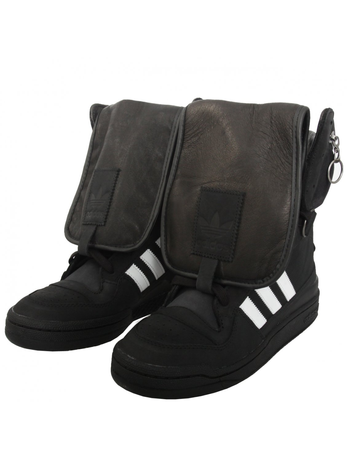 b259c6fd02a4 Jeremy Scott for adidas Tall Boy High Sneakers Black in Black for ...