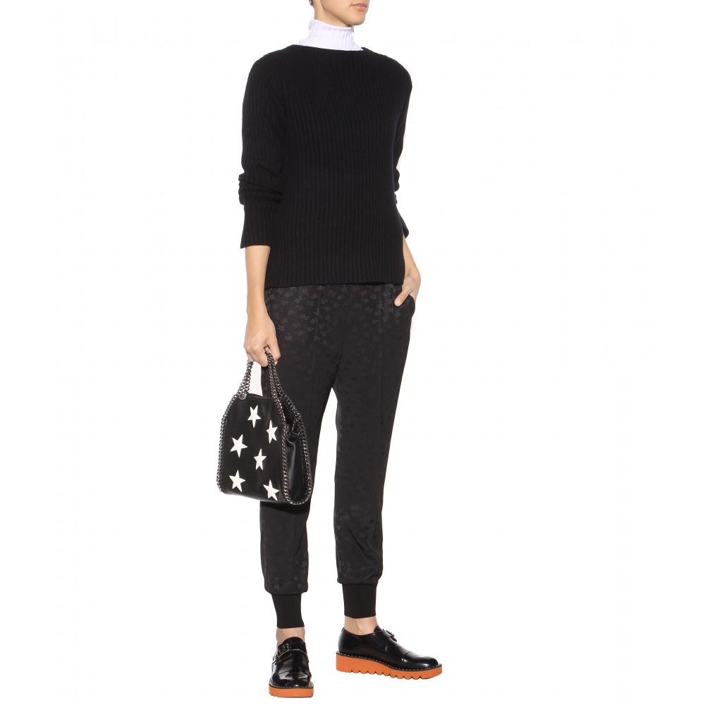 stella mccartney falabella mini faux leather shoulder bag. Black Bedroom Furniture Sets. Home Design Ideas