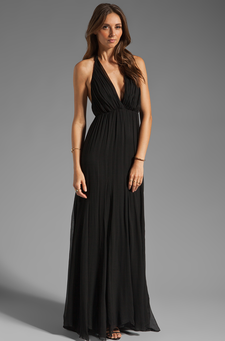 Long black halter dress - Little Black Dresses, Black Long Prom ...