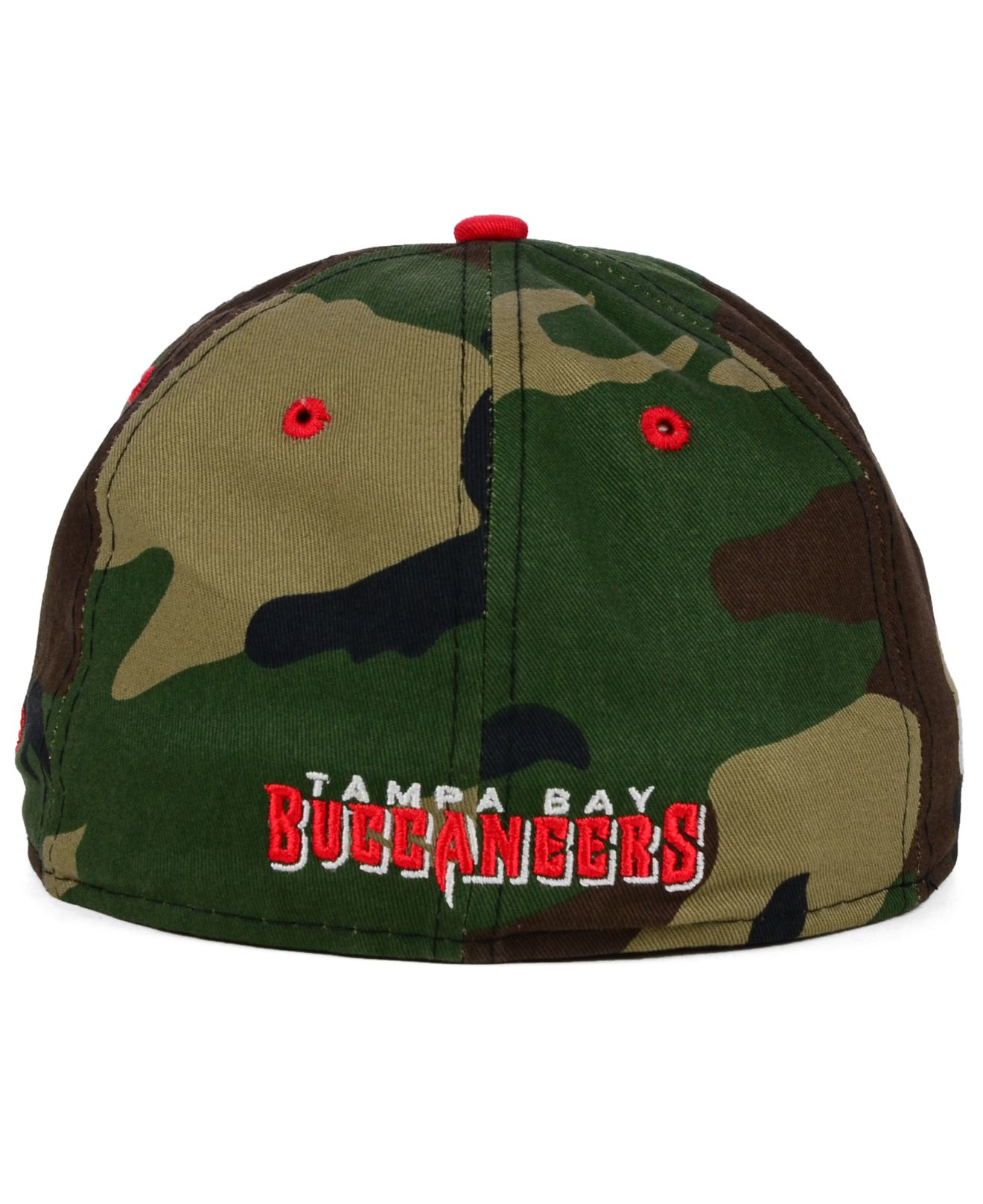sports shoes 29740 dce62 ... promo code lyst ktz tampa bay buccaneers camo pop 59fifty cap in green  for men dd992