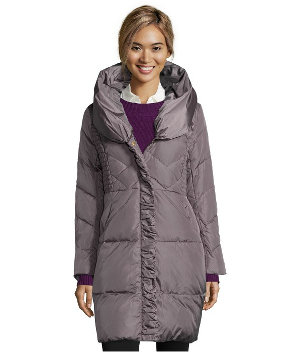 Pillow Collar Down Coat Jacketin