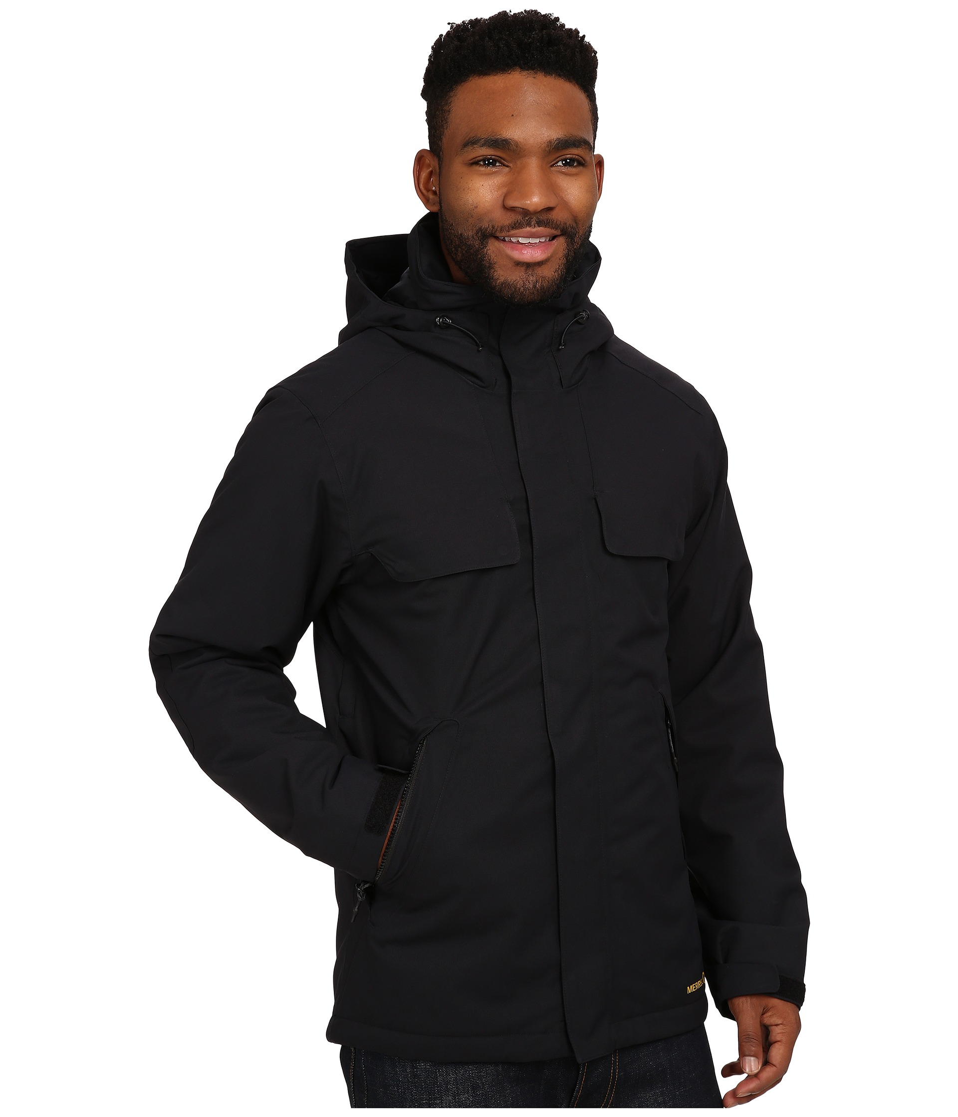 Merrell Summit Spark Insulated Jacket in Black for Men | Lyst