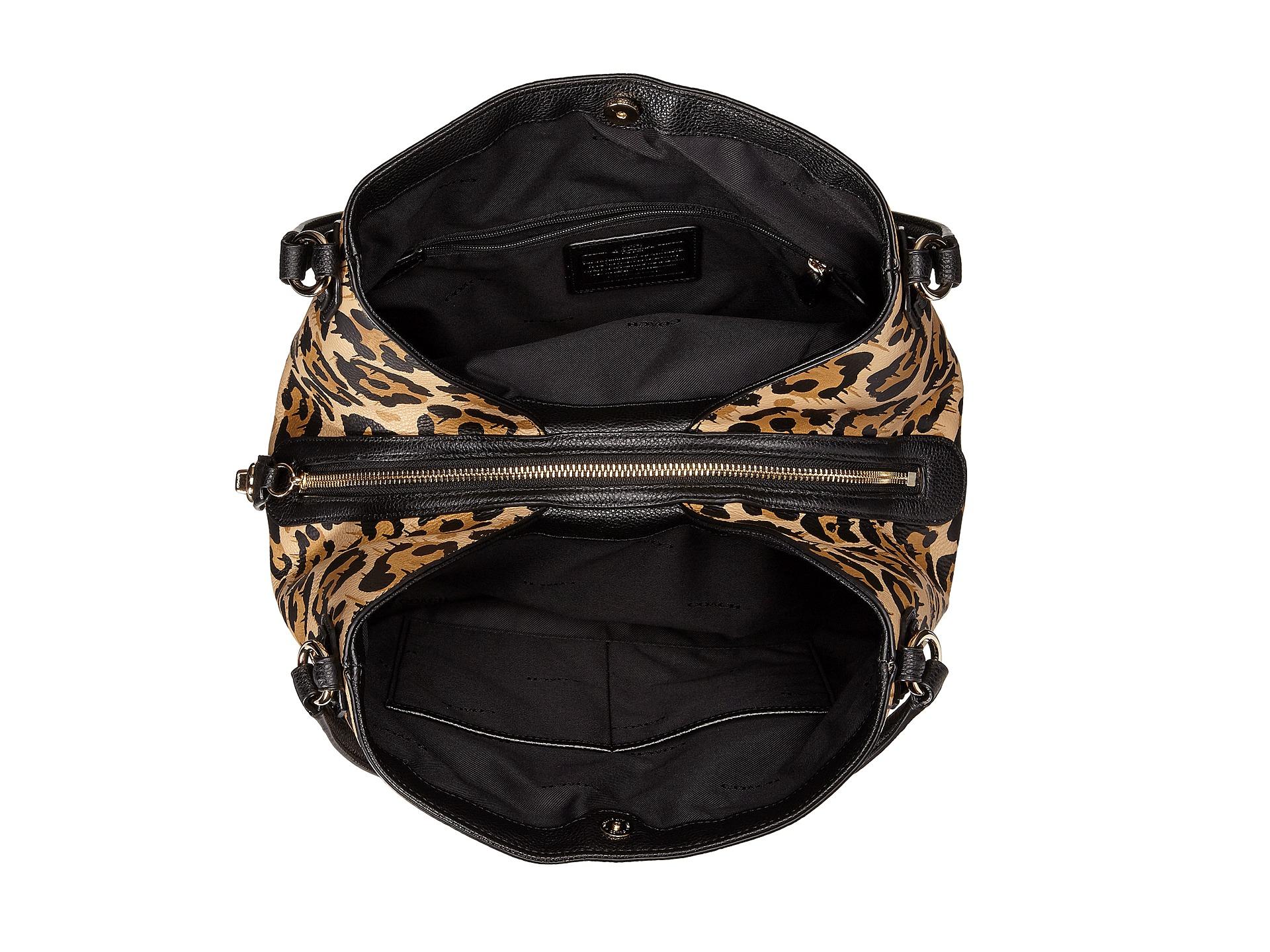 173b06d10c ... france lyst coach leopard ocelot edie 31 shoulder bag 9aa15 6fed6