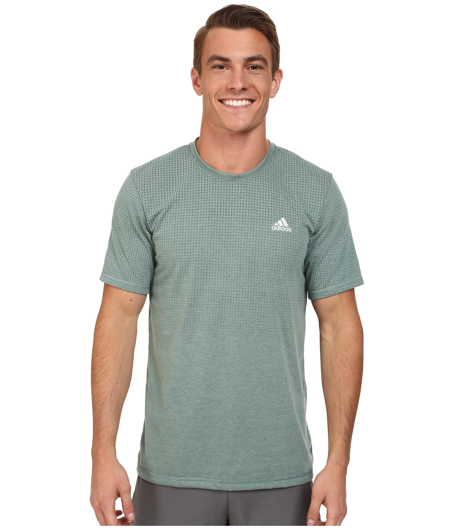 Camiseta corta Lyst verde Adidas 19627 Aeroknit de manga corta en verde para hombre 998e4a9 - hvorvikankobe.website
