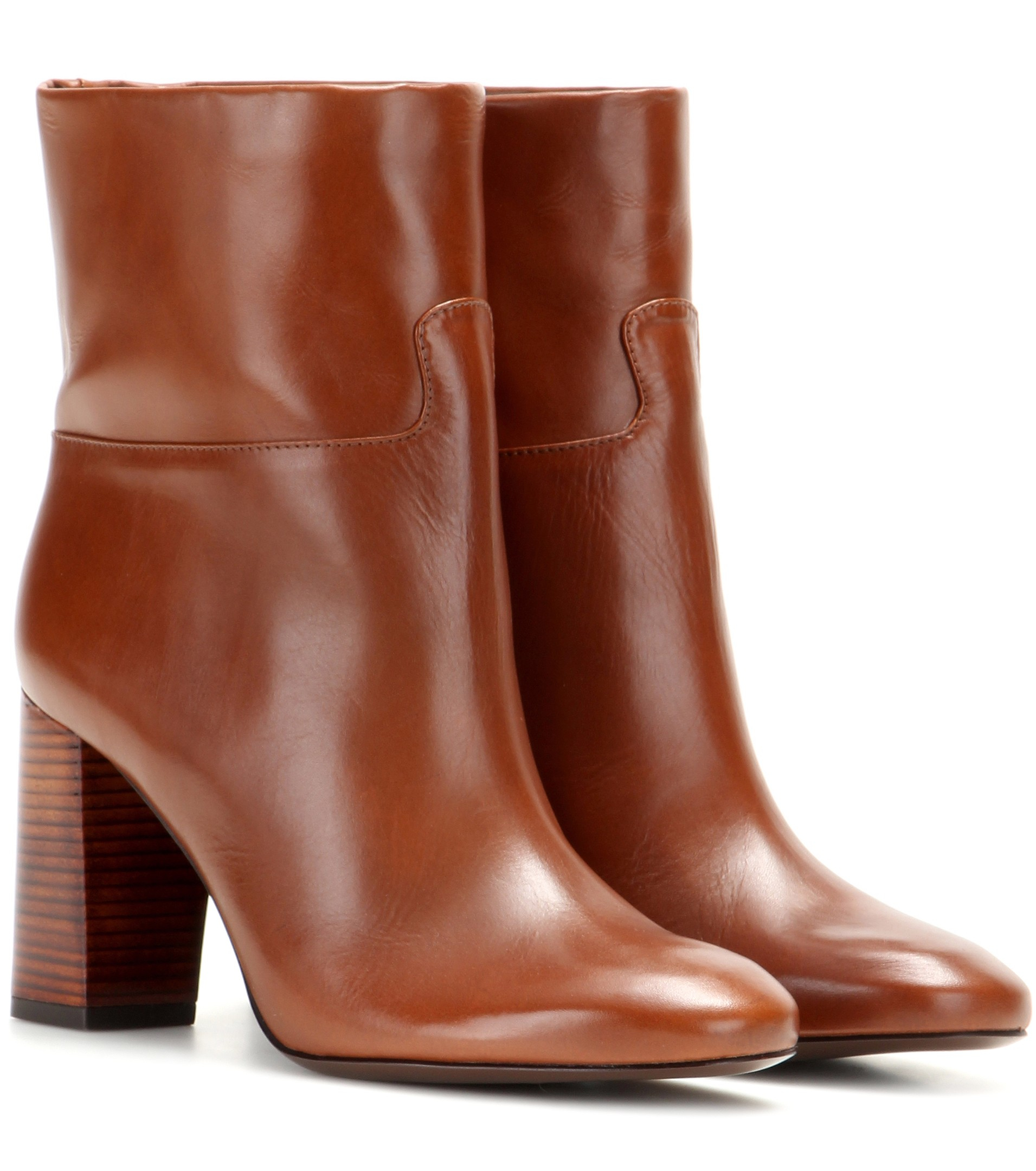 Tory Burch Leather Ankle Boots GhpvI