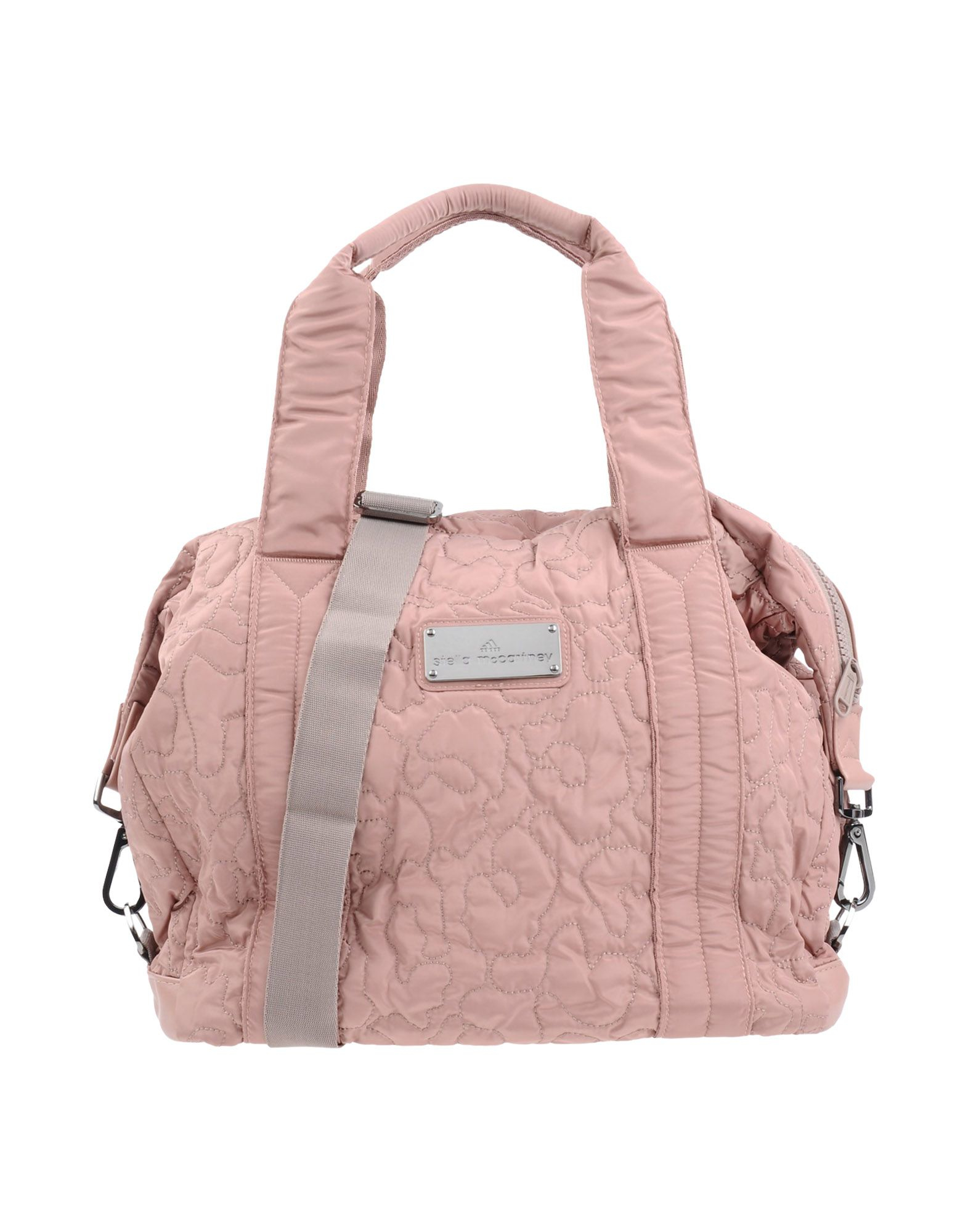 Lyst - adidas By Stella McCartney Medium Quilted Gym Bag in Pink 4515d2ddf5b32