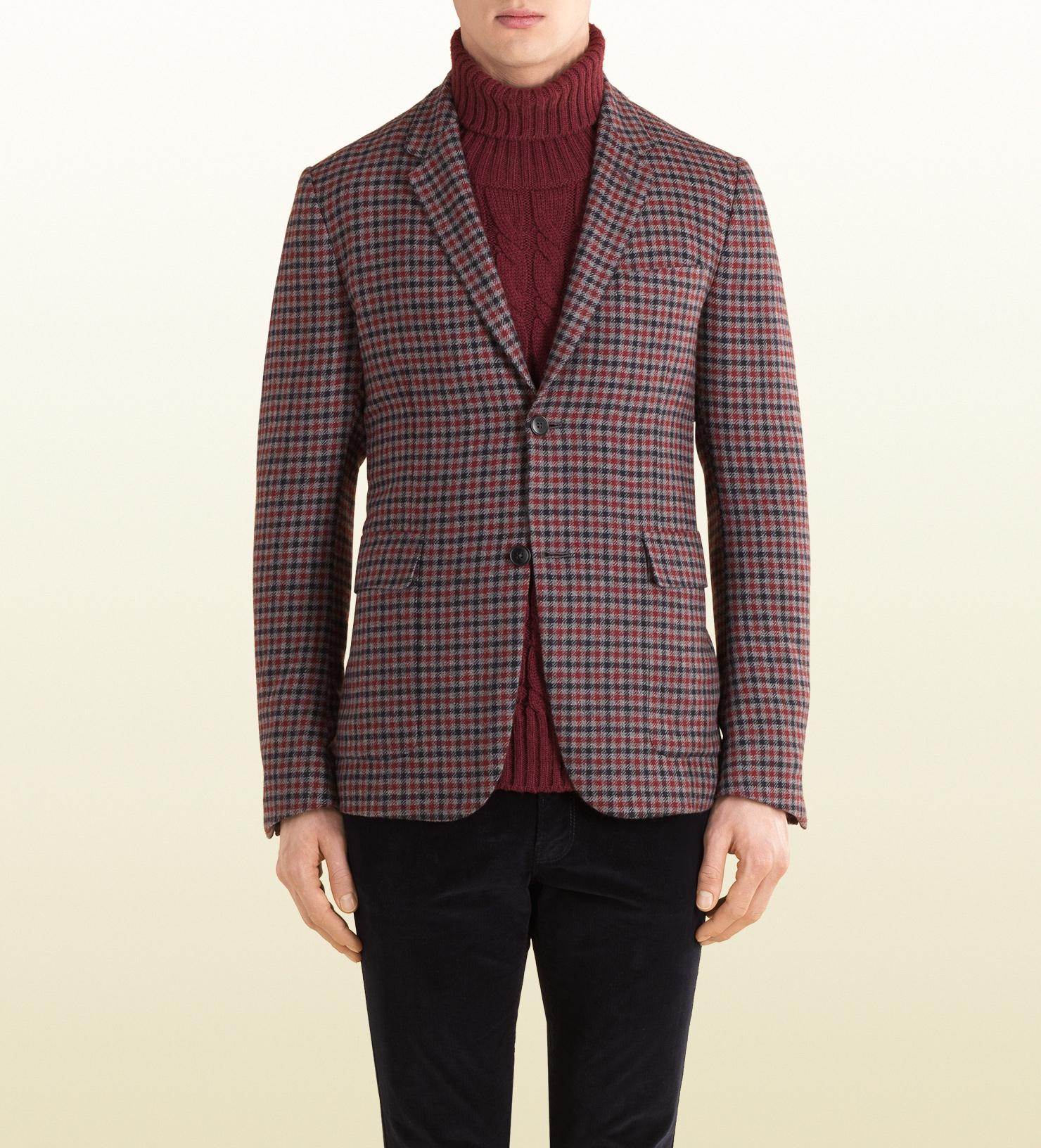 14c9e0ea9 Gucci Blazer in Red for Men - Lyst
