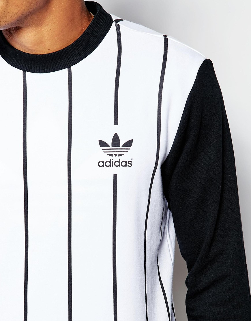 Lyst - adidas Originals Beckenbauer Sweatshirt With Back Print ... 0f633b4a2