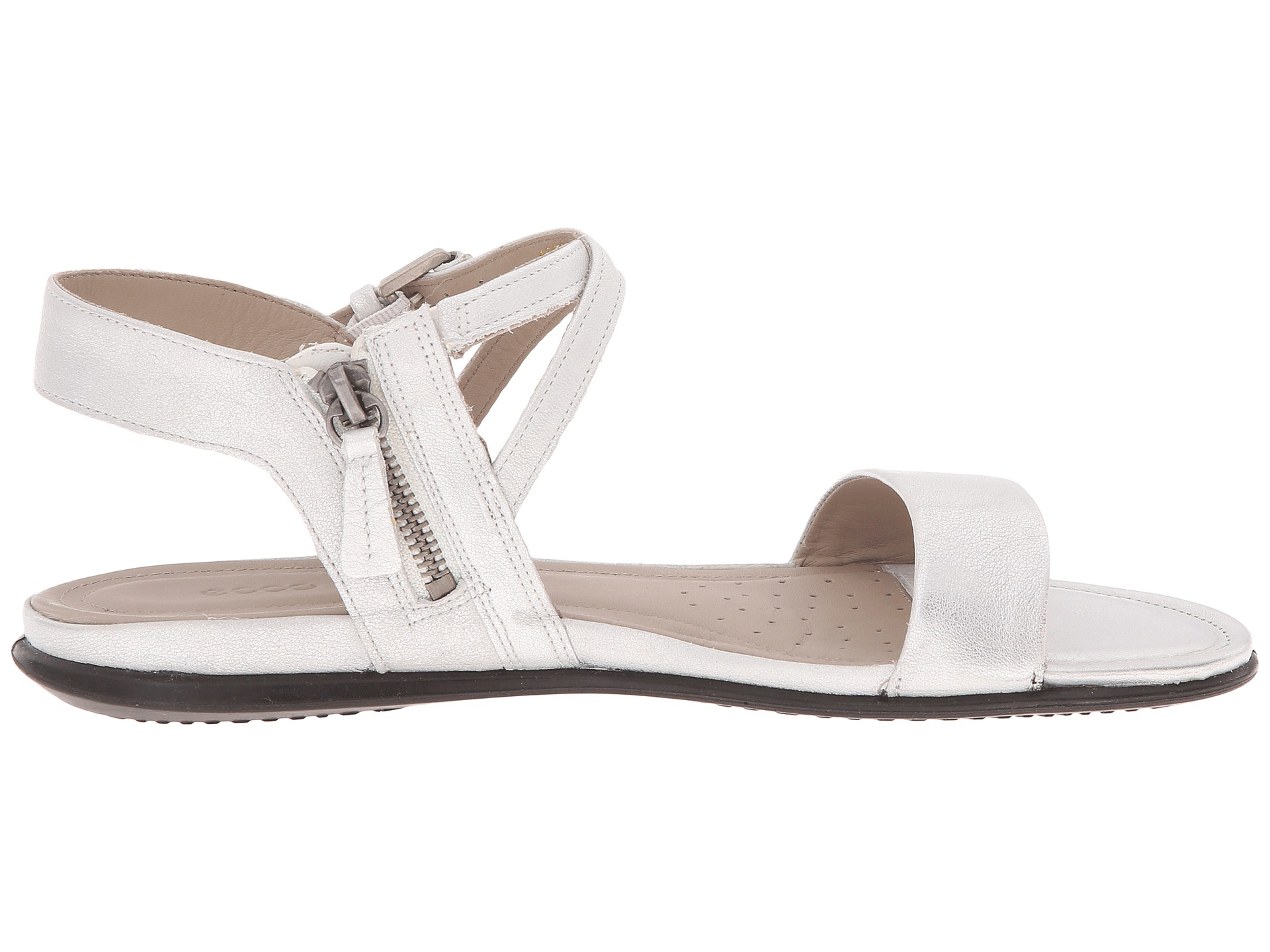 Lyst Ecco Touch Ankle Sandal In White