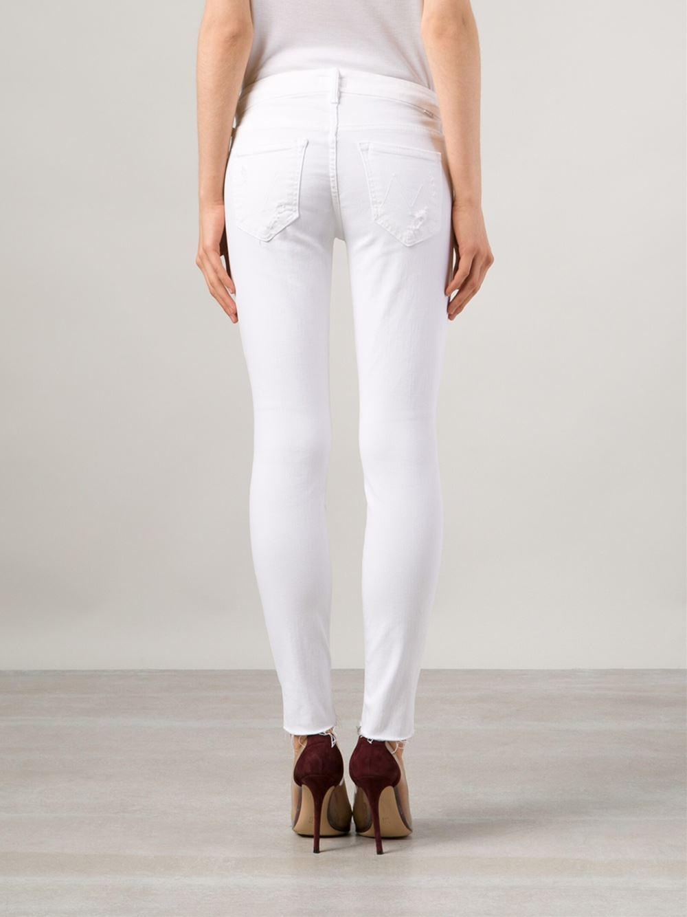 Mother White Jeans | Bbg Clothing