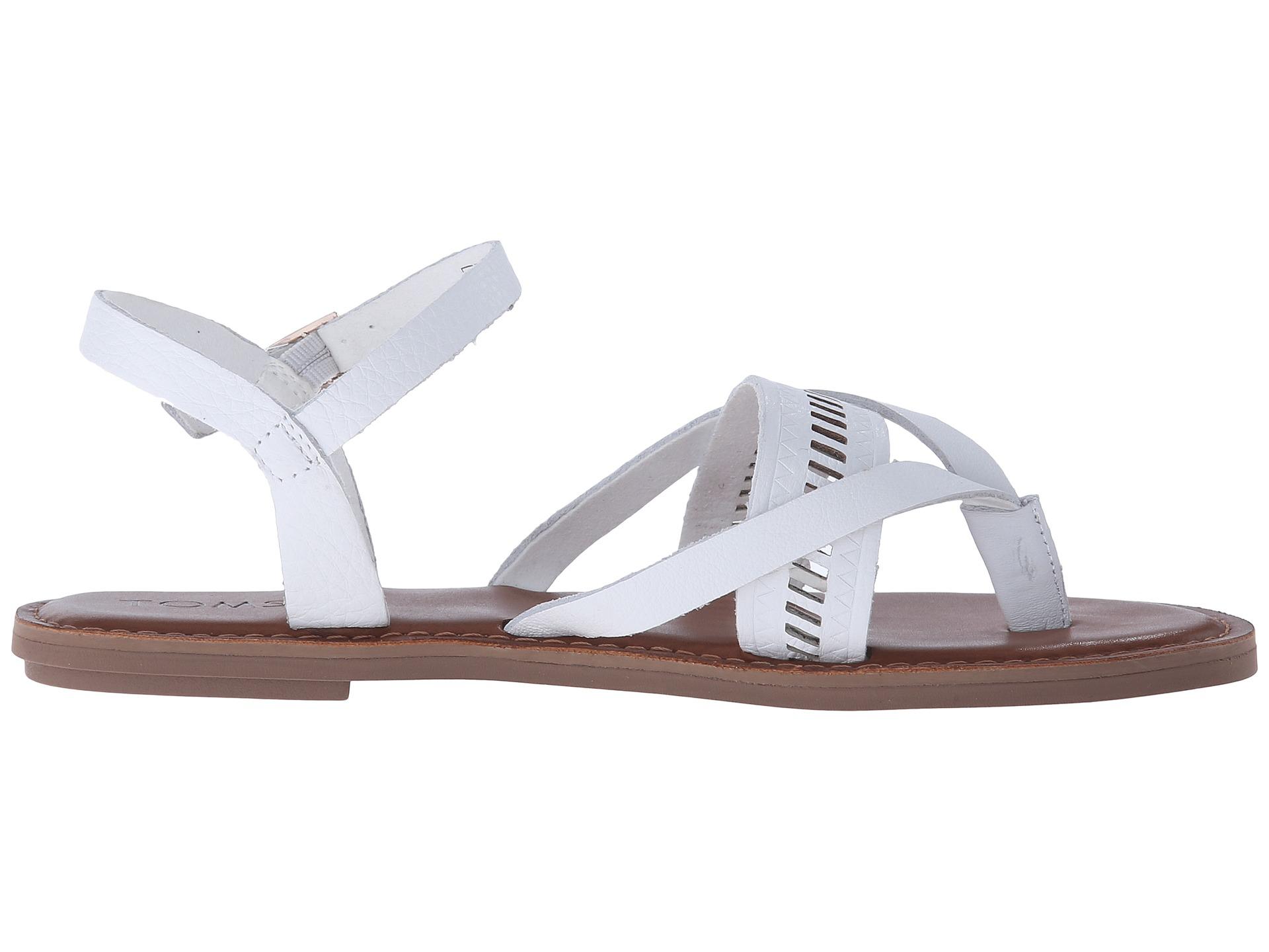 352b2501b53 Lyst - TOMS Lexie Sandal in White