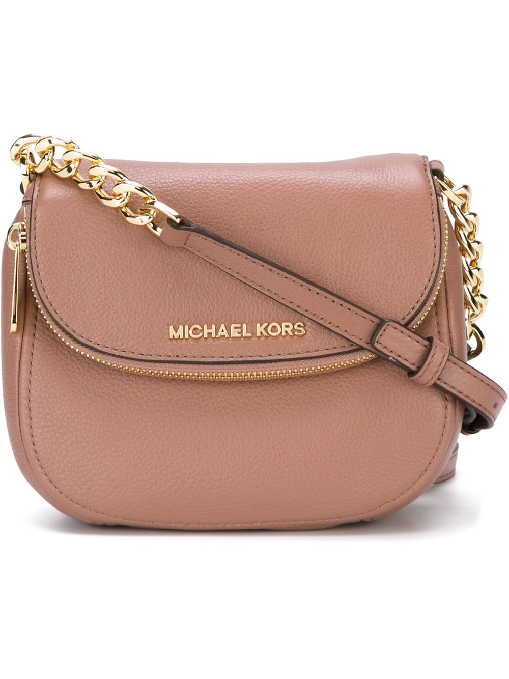 467db79cb3fe ... new zealand lyst michael michael kors bedford crossbody bag in pink  008af a194d