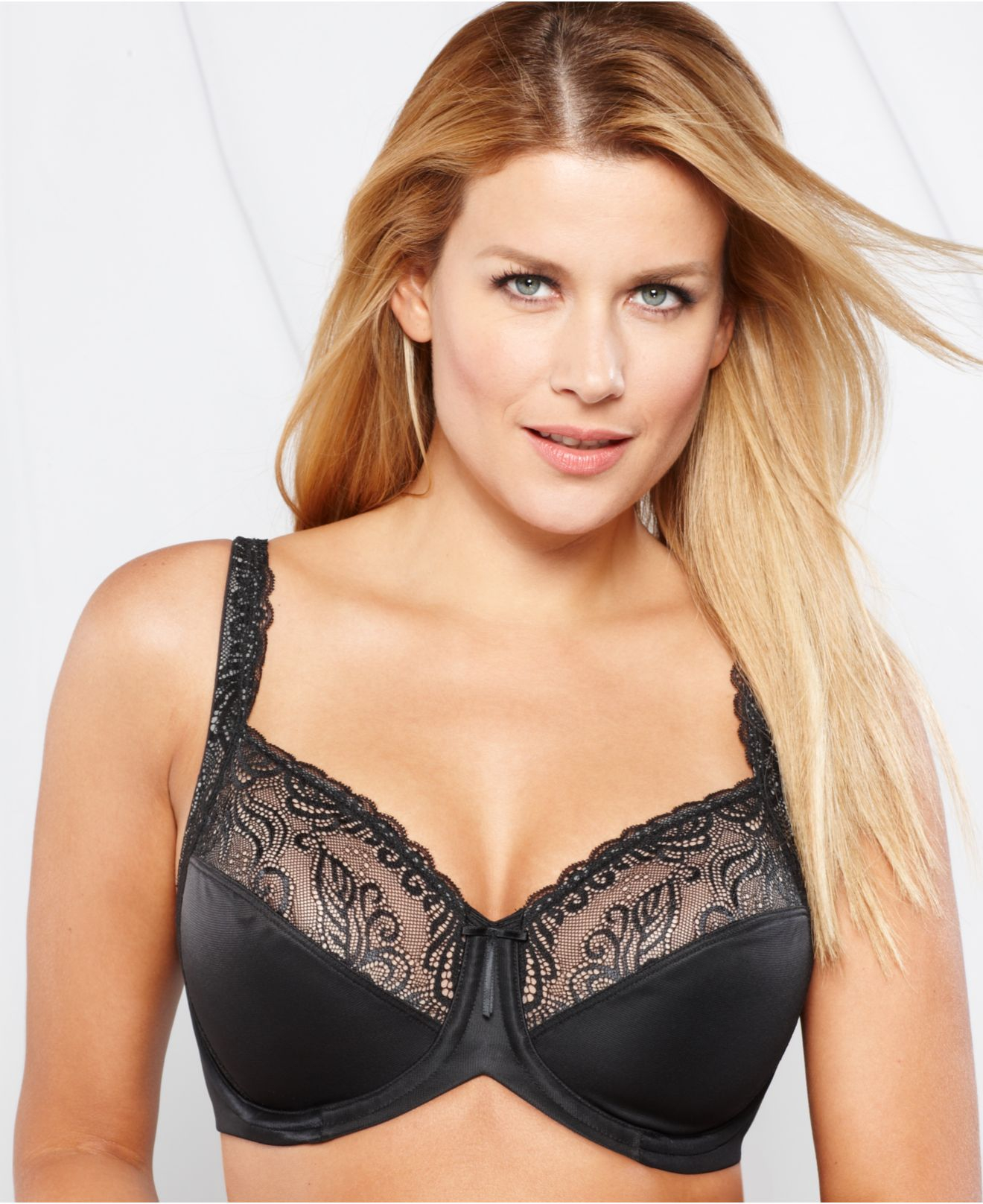 Lilyette Enchantment 3 Section Underwire Bra 0432 in Black | Lyst