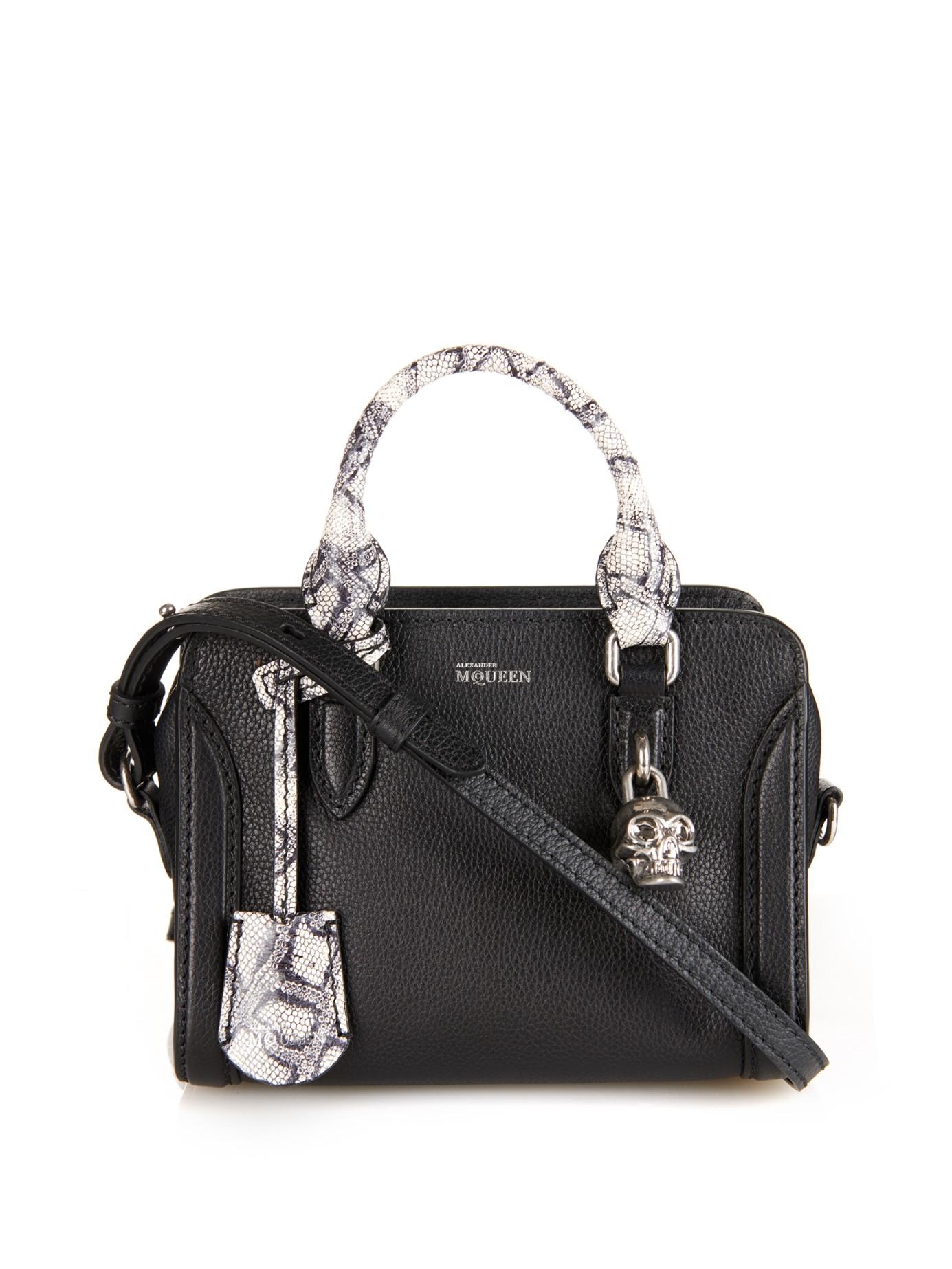Alexander McQueen White leather Mini Crossbody bag NewLLDq
