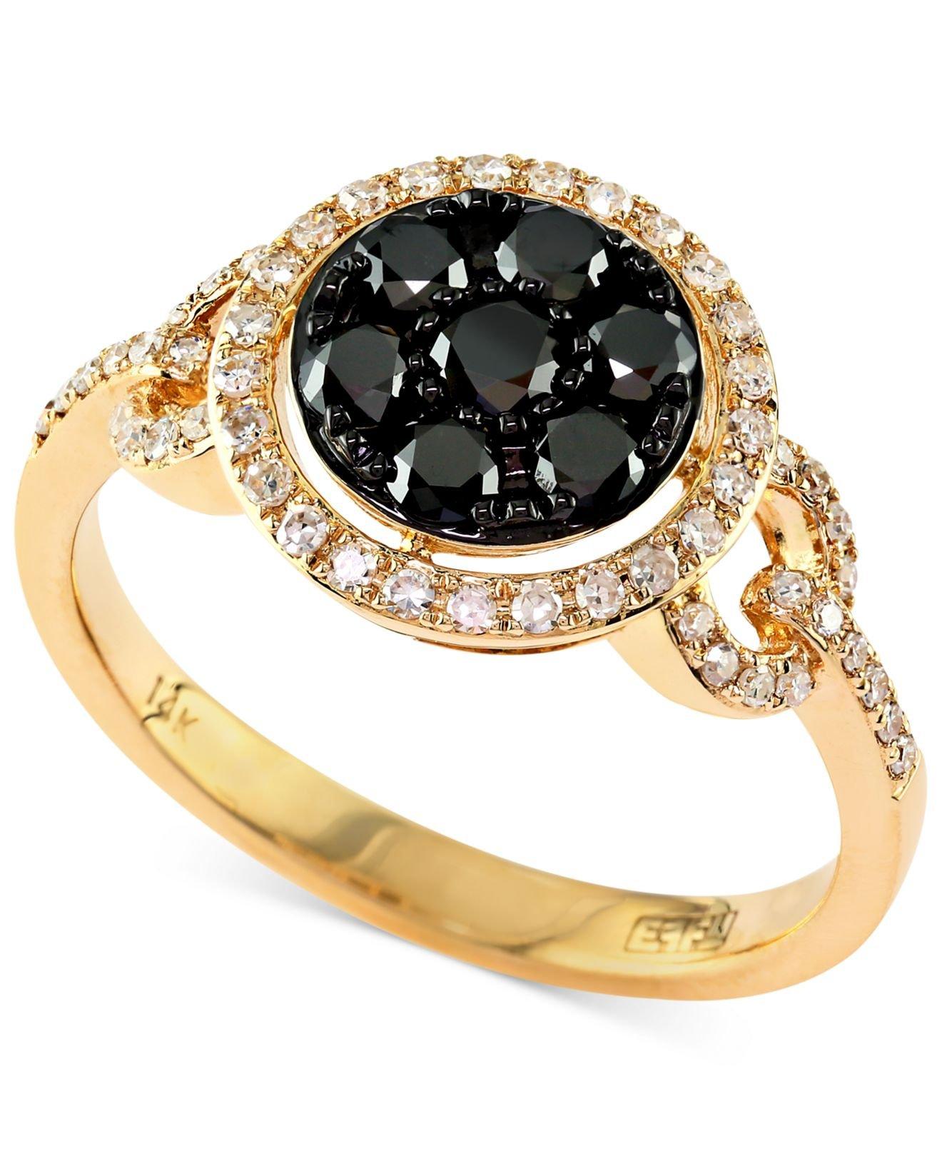 Effy Collection Caviar By Effy Black And White Diamond