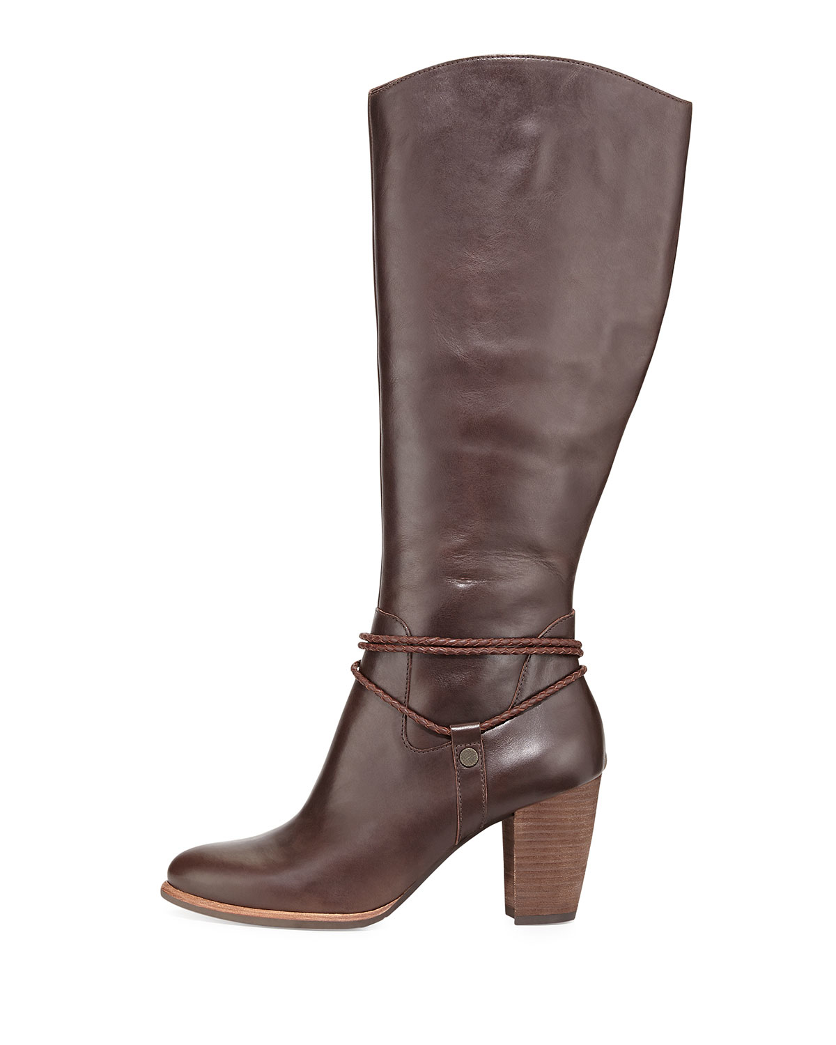 Ugg Leather Knee High Boots