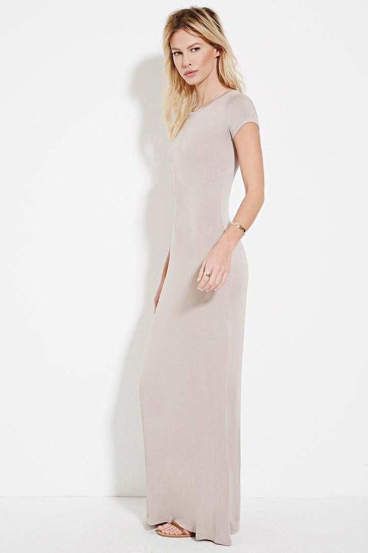 fe19a0c96409 Long T Shirt Maxi Dress | Top Mode Depot