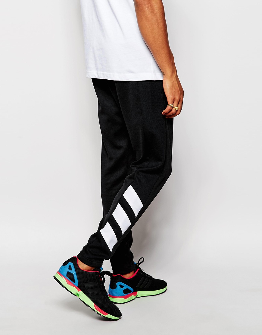 Lyst Adidas Originals Skinny Trackpants Ab7498 In Black