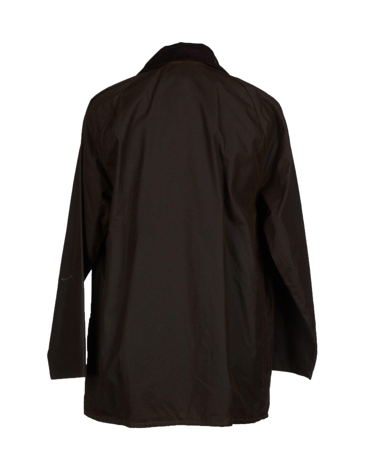 Barbour Full Length Jacket In Green For Men Lyst