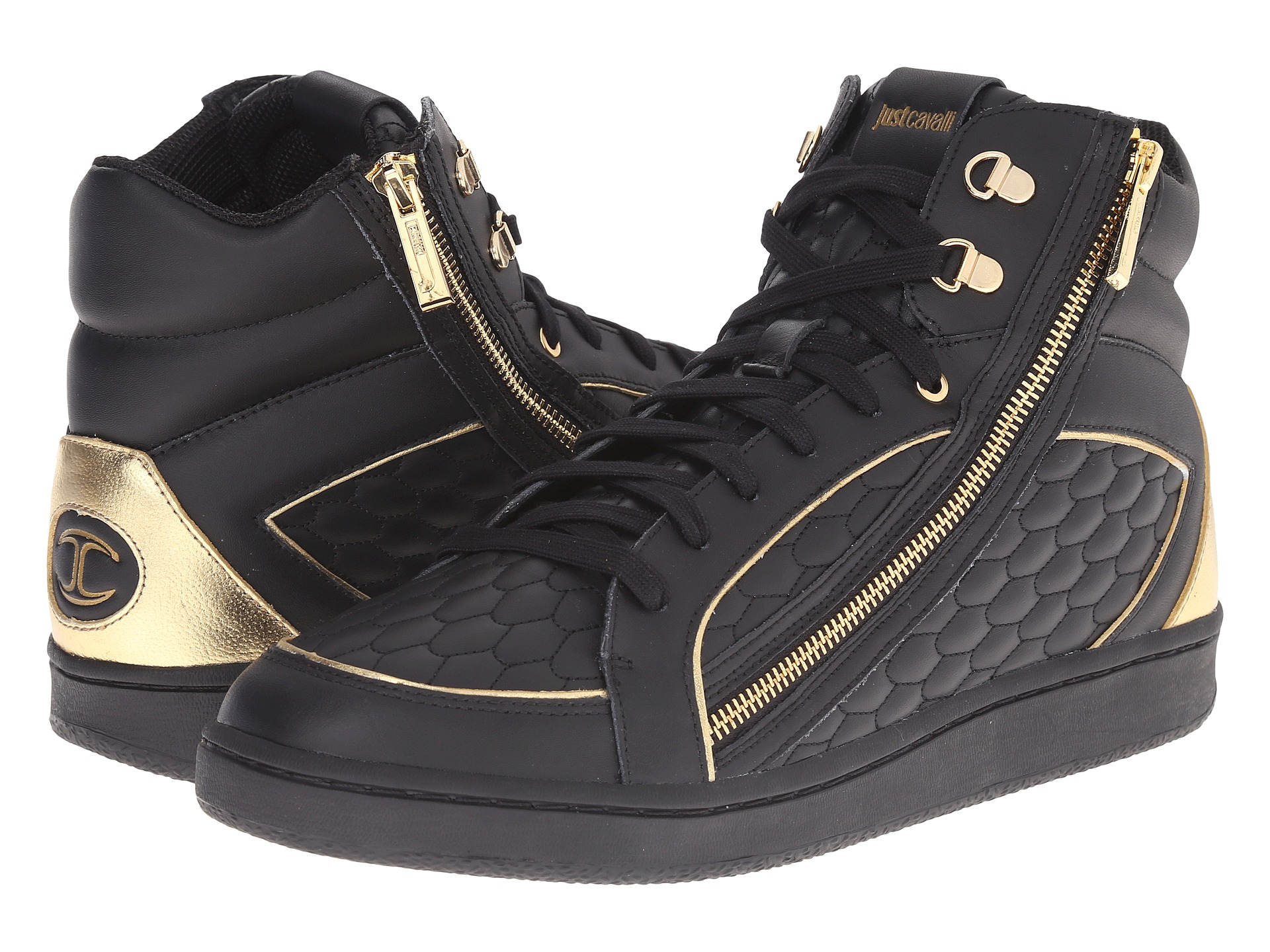 FOOTWEAR - High-tops & sneakers Just Cavalli Best Authentic Buy For Sale Outlet 100% Original rGSXjpU
