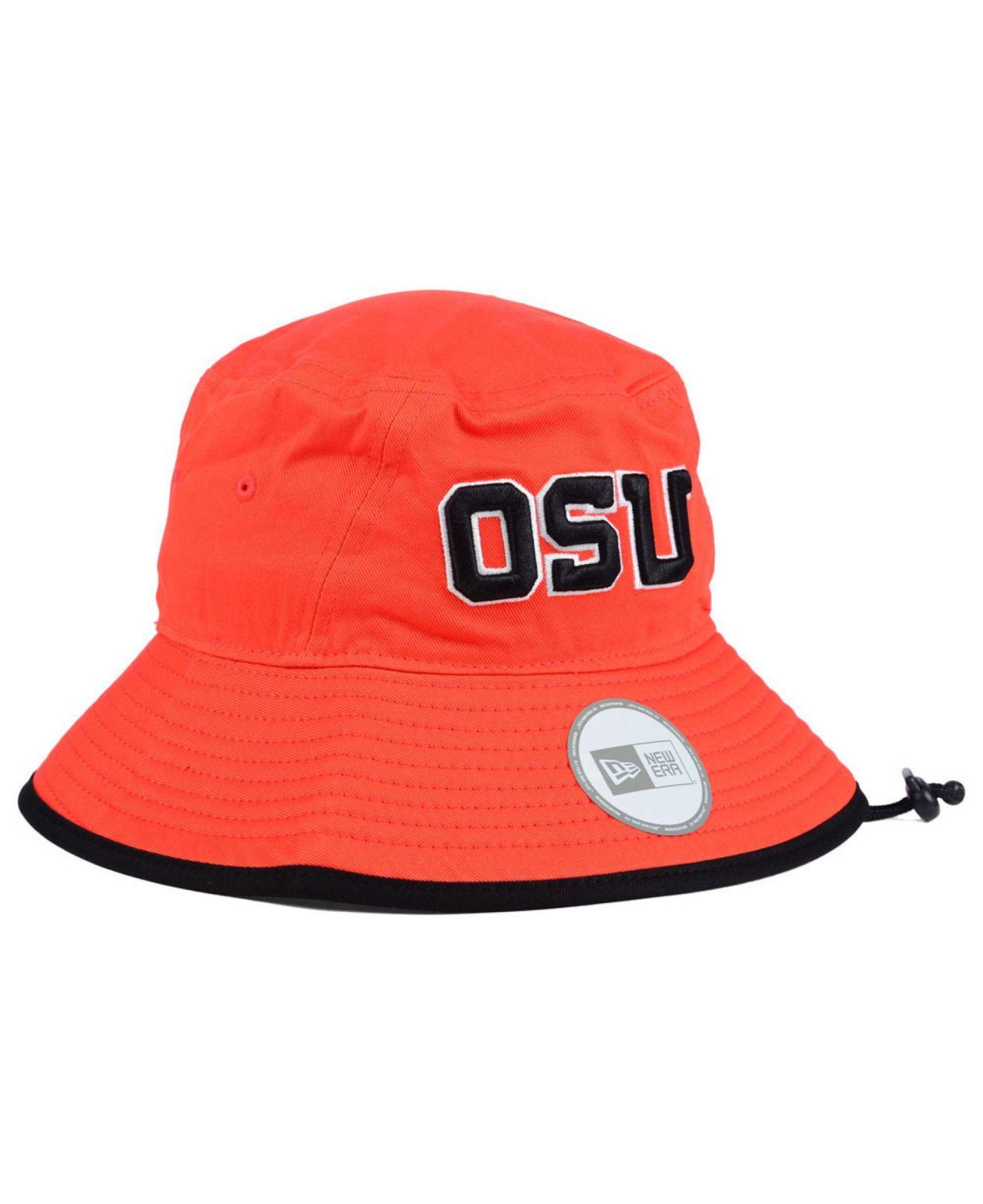 6457afcf34f Lyst - KTZ Oregon State Beavers Tip Bucket Hat in Orange for Men