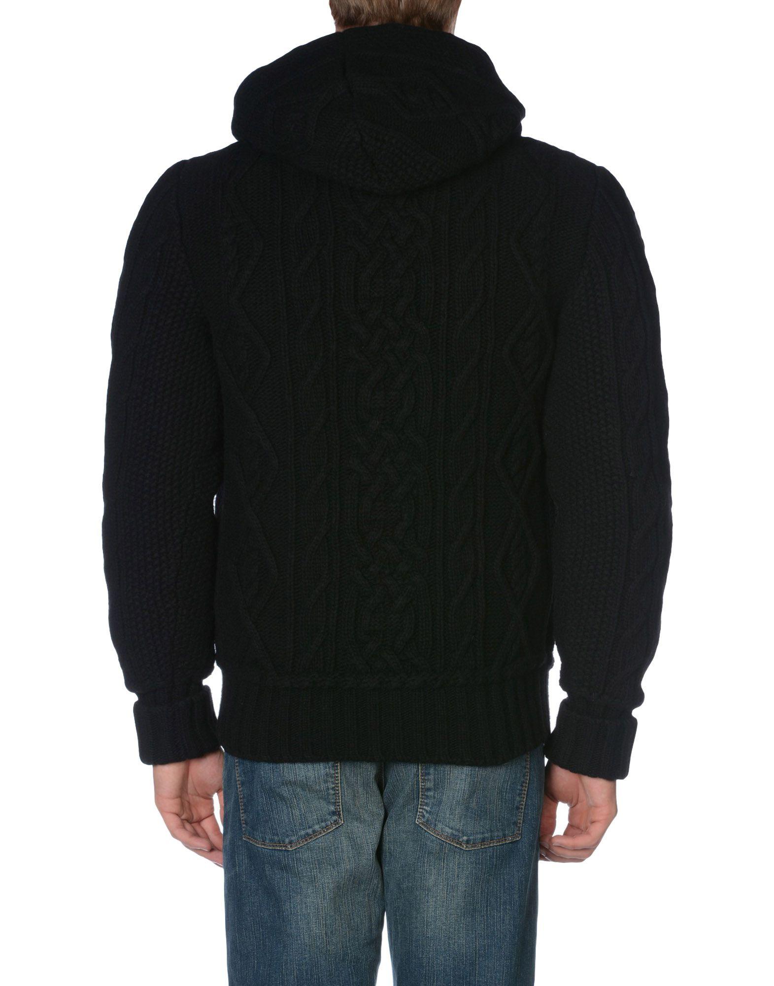 lyst dolce gabbana down jacket in black for men. Black Bedroom Furniture Sets. Home Design Ideas