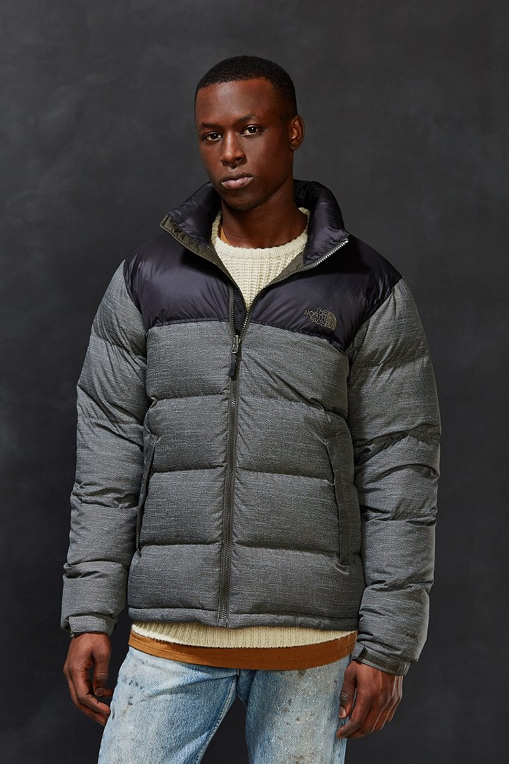 69d12f0a487f ... czech lyst the north face nuptse jacket in gray for men 0feae 2ade8