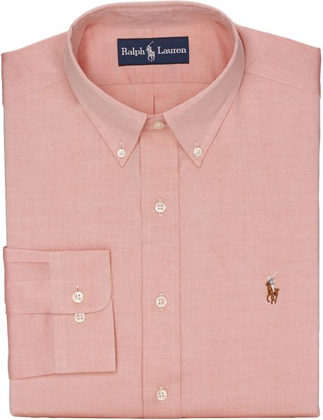 Polo ralph lauren classicfit pinpoint oxford buttondown for Pinpoint button down dress shirt