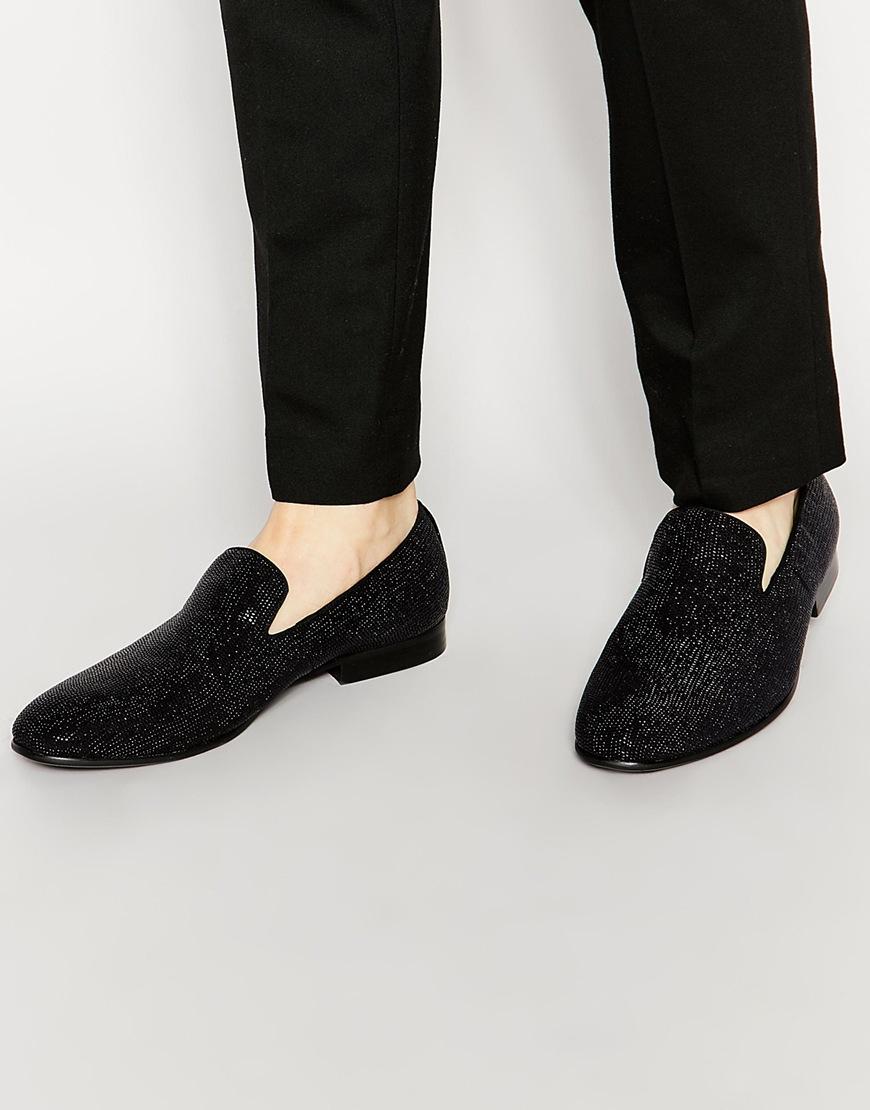 Buy Men Shoes / Aldo Migorien Velvet Dress Slippers