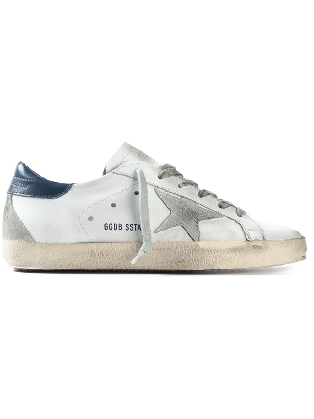 golden goose deluxe brand sneakers in white