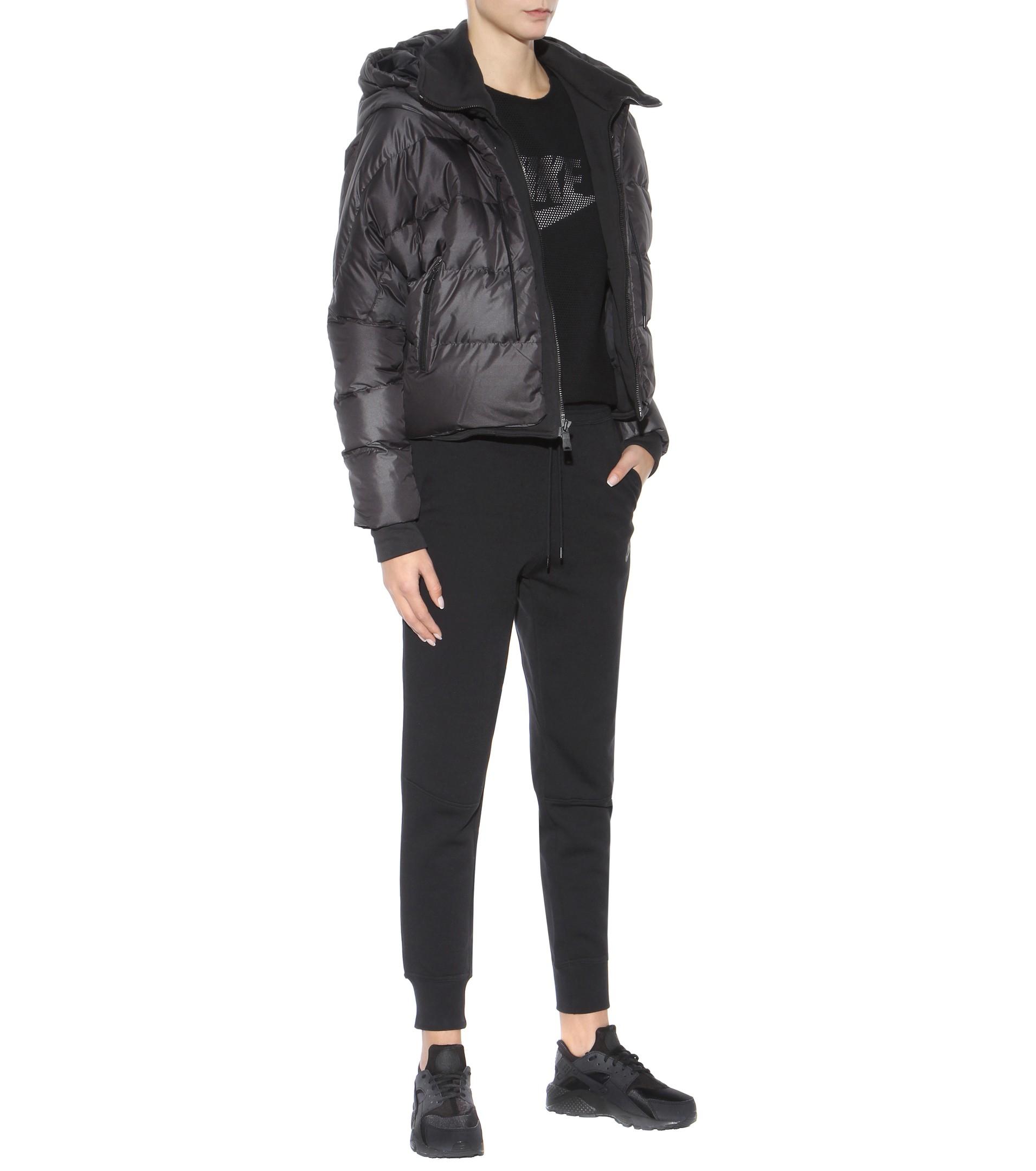 Nike Uptown 550 Down Jacket In Black Lyst