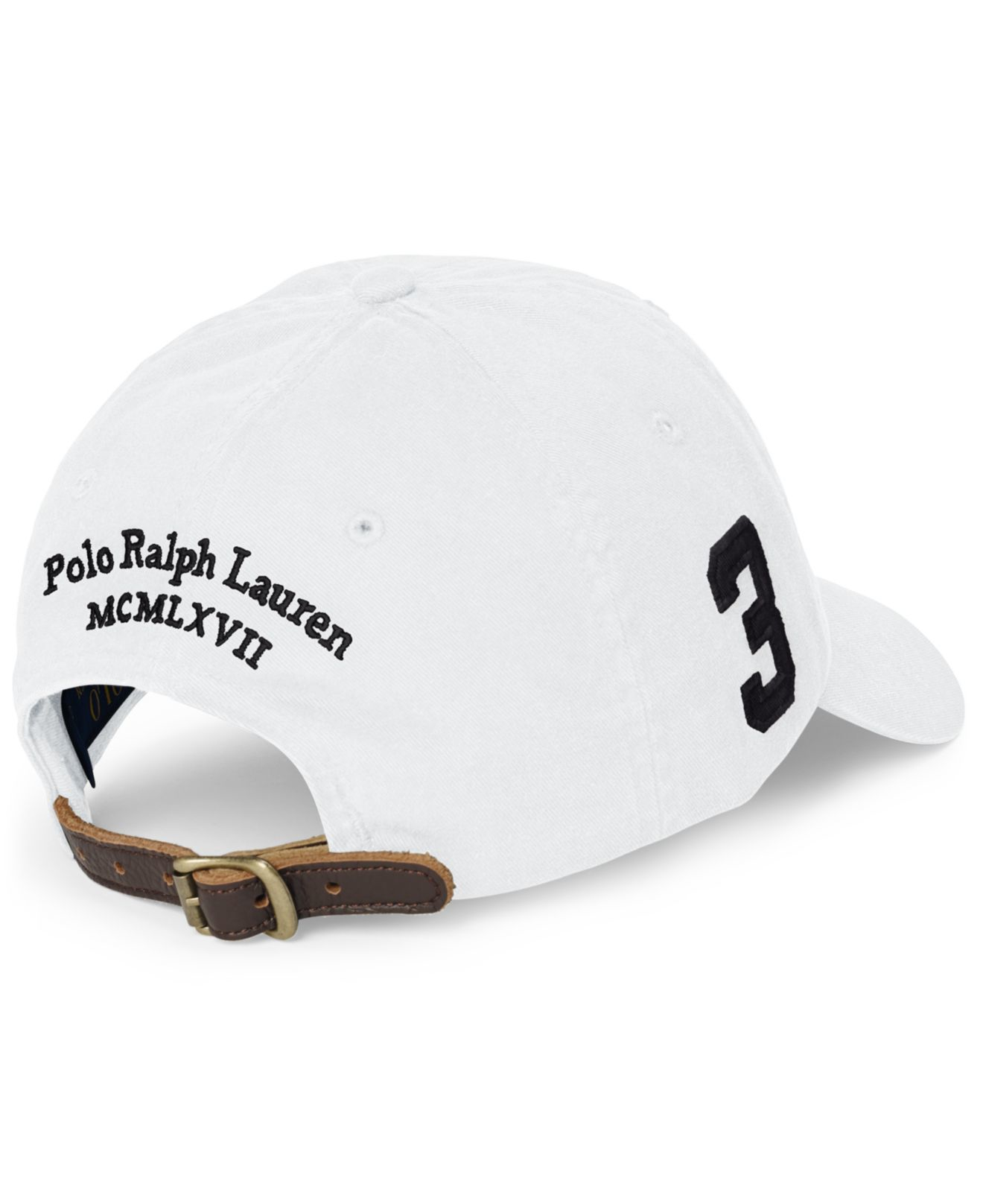 polo ralph lauren chino sports cap in white for men lyst. Black Bedroom Furniture Sets. Home Design Ideas
