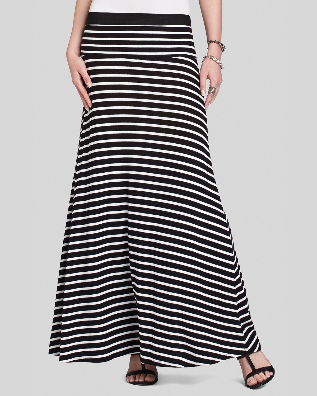 bcbgmaxazria bcbg max azria maxi skirt karolin stripe in