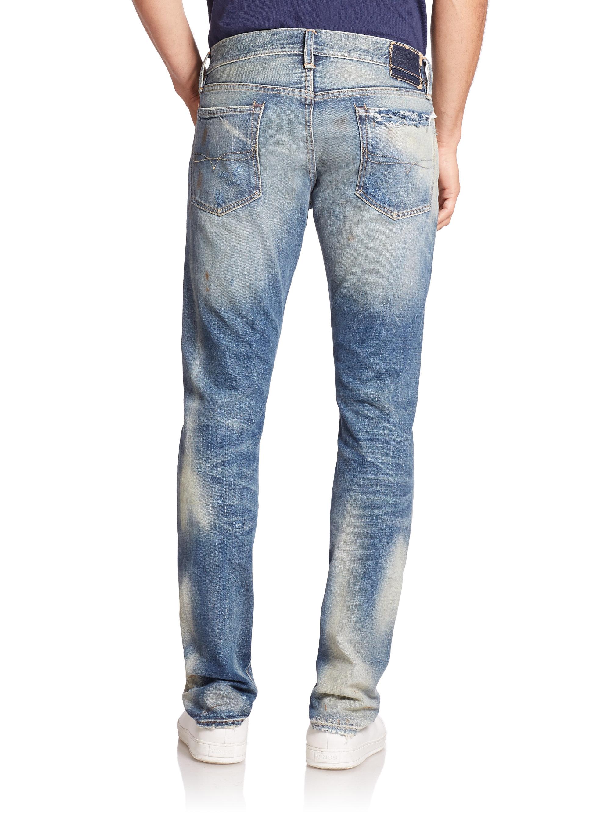 polo ralph lauren sullivan slim fit jeans in blue for men. Black Bedroom Furniture Sets. Home Design Ideas