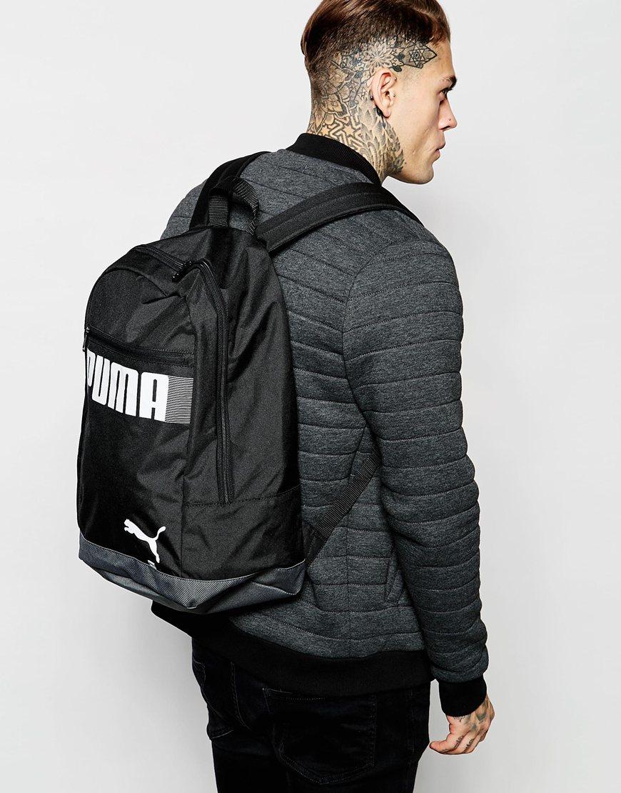 c76ba30293 Lyst - PUMA Pioneer Ii Backpack in Black for Men