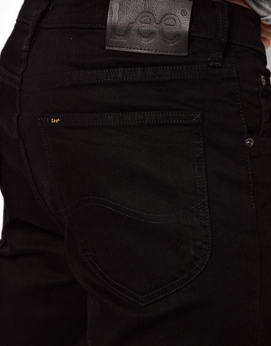 Lee jeans Jeans Blake Straight Fit Stay Black Stretch in Black for ...