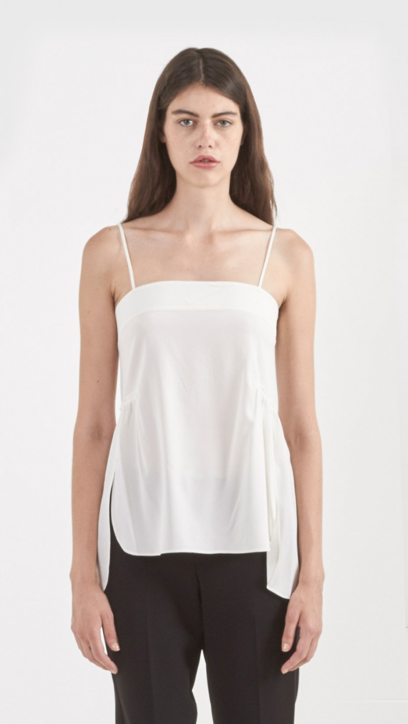 Clearance Collections Helmut Lang Silk High-Low Top Cheap Prices Authentic With Mastercard Cheap Price Quality Original Clearance Cheap Online SwYI3jvi