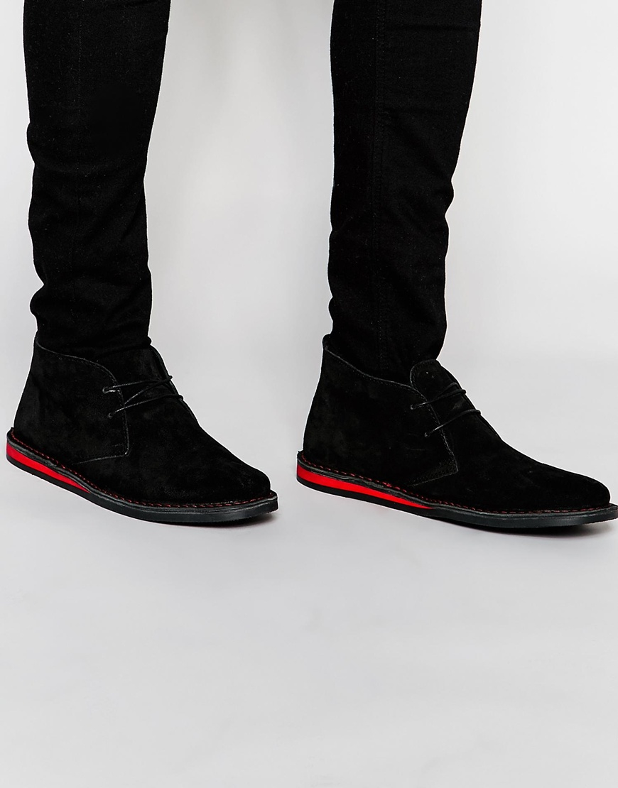 buy cheap fast delivery where to buy low price ASOS Desert Boots in Black Suede sale really discount browse clearance recommend bcxSeJMUWD